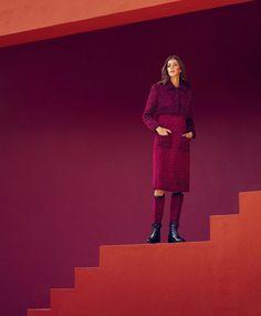 <p>Spanish photographer Daniel Riera shot the beautiful Valery Kaufman styled by Joanna Hillman in 'Bright Ideas' at the gorgeous La Murella Roja for Harper's Bazaar Us September 2016. Pho