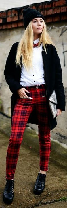 Tartans Rocks by Fashion Around