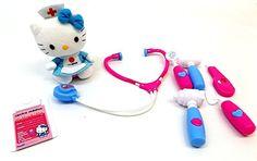 Hello Kitty Tierarzt Set inkl. Hello Kitty Plüsch Krankenschwester & medizinische Geräte Brigamo http://www.amazon.de/dp/B00YLHH1FU/ref=cm_sw_r_pi_dp_GGaDvb1B27W7A