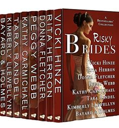 LAST DAYS!  Available only until 2/28.  Risky Brides: A BESTSELLERS' COLLECTION OF NOVELS AND NOVELLAS by Vicki Hinze, http://www.amazon.com/dp/B00OABL7G6/ref=cm_sw_r_pi_dp_Y6Y7ub0TKYJ3W