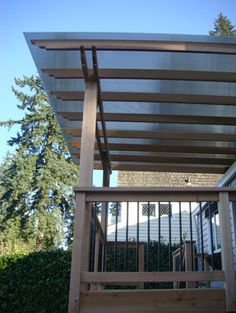 patio cover design | diy | pinterest | patios, flat roof and ... - Patio Overhang Ideas