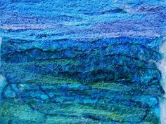 Textile Art Picture Seascape Related Keywords & Suggestions ...