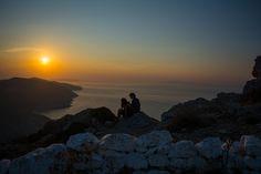 Sunset from Panagia. Folegandros, Greece