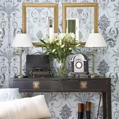 Bold feature wall