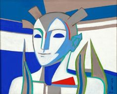 Available for sale from Mac-Gryder Gallery, Françoise Gilot, Fire Spirit Oil on canvas, 16 × 20 in Francoise Gilot, Graphic Design Posters, French Artists, Pablo Picasso, Art For Sale, Oil On Canvas, Original Artwork, Artsy, Spirit