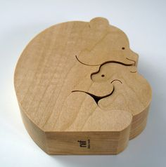 Bärenpaar Nr 9267 - Sabu Oguro Puzzle Jigsaw by Naef Spiele