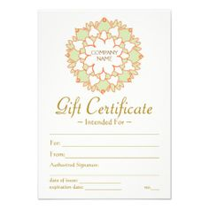 Lotus Healing Arts Printed Gift Certificate Template - Click in Yoga Gift Certificate Template Free - Best & Professional Templates Ideas Perfect Attendance Certificate, Blank Certificate, Free Certificate Templates, Printable Certificates, Certificate Design, Gift Certificates, Name Gifts, Yoga Gifts, Gift Exchange