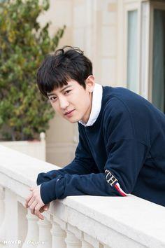 190408 Dispatch x Naver update w/ Chanyeol EXO Chanyeol Cute, Park Chanyeol Exo, Baekhyun Chanyeol, Woozi, K Pop, Kim Joon Myeon, Exo Official, Kim Minseok, Xiuchen