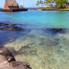 Kona, Hawaii. King Kamehameha's swimming hole! Went there almost everyday!