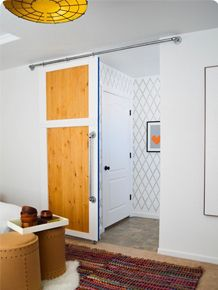 ** Check out THIS POST for an updated (and more detailed) lightweight version of this tutorial! Including how to make your own door! How to make a Sliding Barn door was hands down the most requested tutorial from The EpicRead More