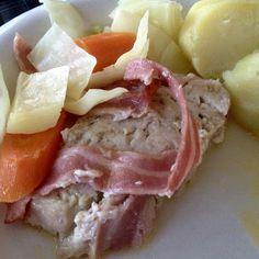 Guttas Kjøkken: Kjøttbrød med bacon