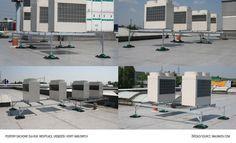 Walraven - Podpory dachowe dla rur, wentylacji, urządzeń i koryt kablowych
