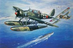 Arado Ar 196 by Roy Cross