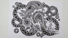Zentangle #9 * Zeitraffer