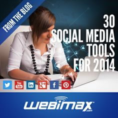 30 #socialmedia marketing tools you need to know for 2014