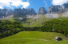Sierra de los Alanos, Valle de Ansó.