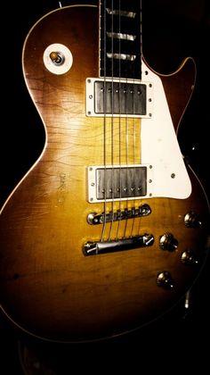 1958 Gibson les Paul.