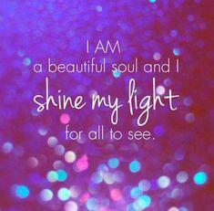 Engelen om je heen waarheid! Ik ben een prachtige ziel en straal mijn licht zodat iedereen dit kan zien en oppakken!
