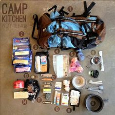 Easy Homesteading: How to Pack a Camp Kitchen