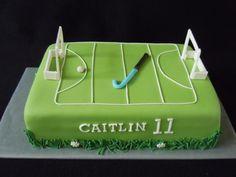 taart fondant hockey - Google Search Hockey Cakes, Hockey Birthday, Cupcake Cakes, Cupcakes, Field Hockey, Rugby, Cake Ideas, Fondant, Passion