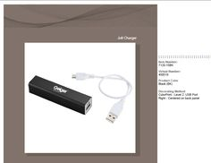 Zoom Jolt Charger - Re-charge your Phone or Tablet anywhere for extended life on the go! Makes for a great gift.