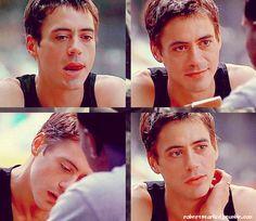 Young Robert Downey Jr.