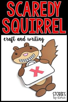 After reading Scaredy Squirrel by Melanie Watt, students can create this Scaredy Squirrel craft. The emergency kit doubles as a writing booklet. I have included several writing prompt suggestions and templates. You will also find comprehension questions,