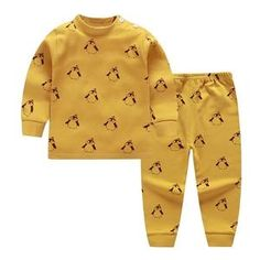 Let your little one sleep with comfort and ease in this cute pajama set. Made with cotton material that is soft for the skin. Fits true to size. Cute Pajama Sets, Cute Pajamas, Toddler Pajamas, Boys Pajamas, Baby Boy Jumpsuit, Winter Baby Clothes, Thanksgiving Baby, Girl Outfits, Cute Outfits