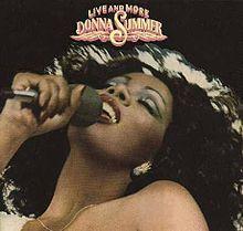 Donna Summer, fantastic singer made me wanna sing & dance