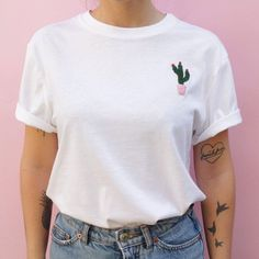 Absolute -Liebe. Das Shirt findet ihr bei SugarClubShop.etsy.com #etsymoment #etsyde #cactilove #kaktus #cactuslover #handmade