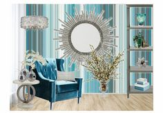 Check out this moodboard created on @olioboard: blue stripes by ajacobs