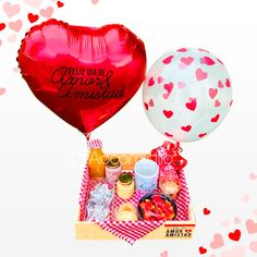 Helium Balloons, Chocolate Strawberries, Romantic Gifts, Breakfast Time, Love Gifts, Craft Gifts, Wines, Floral Arrangements, Christmas Bulbs
