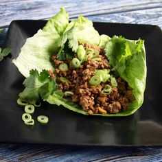 This AIP chicken lettuce wraps recipe is a light, refreshing meal that's perfect for your autoimmune diet. Lettuce Wrap Recipes, Chicken Lettuce Wraps, Easy Healthy Dinners, Healthy Snacks, Autoimmune Diet, Aip Diet, Paleo Recipes, Food Videos, Clean Eating