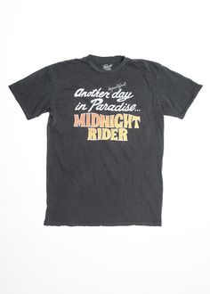 Another Day in Paradise Men's Crew - Vintage Black
