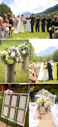 Elegant Ranch Wedding Overlooking the Mountains in Colorado   WeddingWire: The Blog
