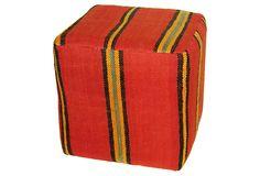One Kings Lane - Ottoman Empire - Kilim Cube I