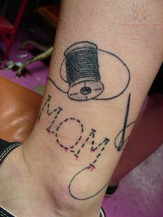 tattoos with sewing | Sewing Tattoos Pictures and Images : Page 8
