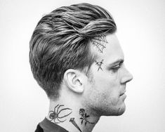 men's haircuts with slicked back flow andrewdoeshair