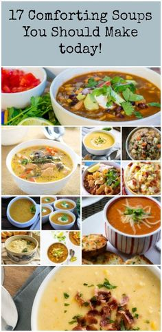 Get these 17 comforting soups in your belly now!