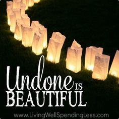Undone is Beautiful Square