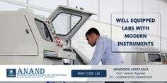 Well equipped labs with modern #instruments  #Engineering #college #Technical #education  http://goo.gl/ZNzRK2