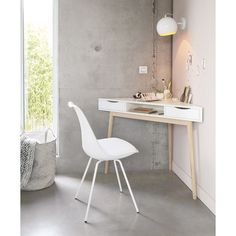The Basic Facts Of White Desk Bedroom Small Spaces 00012 - beterhome White Corner Desk, Small Corner Desk, Small White Desk, Small Office Desk, Corner Vanity, Modern Corner Desk, Ikea Office, Corner Space, Small Home Offices