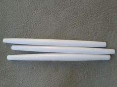White Hairpipes, 4 inch Bone Ethnic Tribal Native American Sold in 10s