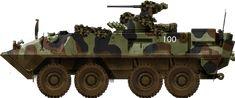 Piranha II 8x8 APC90 Swiss Army