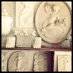 The Hone Exchange ... our new gallery of plaster casts and architectural fragments opens on 18th May