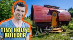 Artistic Tiny House Builder's Workshop Tour