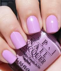 OPI Lucky Lucky Lavender - I'm officially ready for Easter with this color on my toes! :)