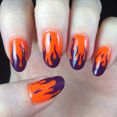 Denver bronco nails nails pinterest denver broncos nails girl on fire denver broncos nails prinsesfo Gallery