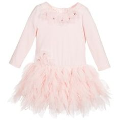 Kate Mack & Biscotti - Pink Cotton & Tulle 'Birthday Girl' Tutu Dress | Childrensalon