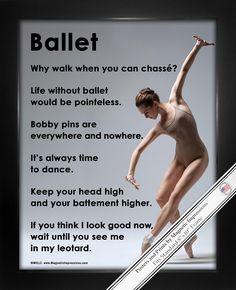 Framed Ballet on Pointe Dance 8x10 Sport Poster Print